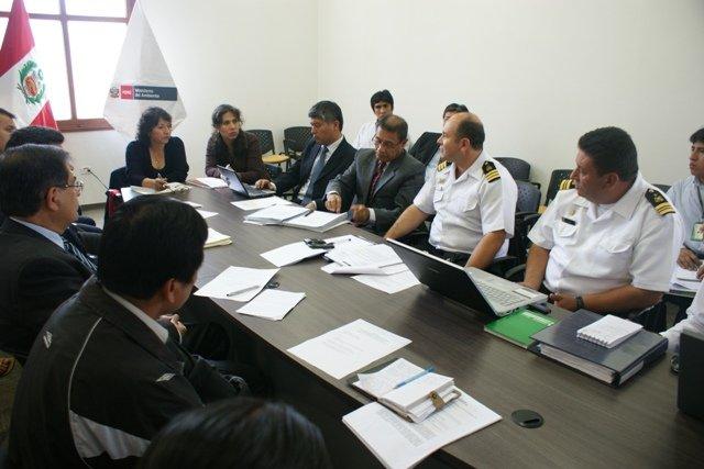 tercera reunion de Grupo de Trabajo de Ordenamiento Minero en Madre de Dios