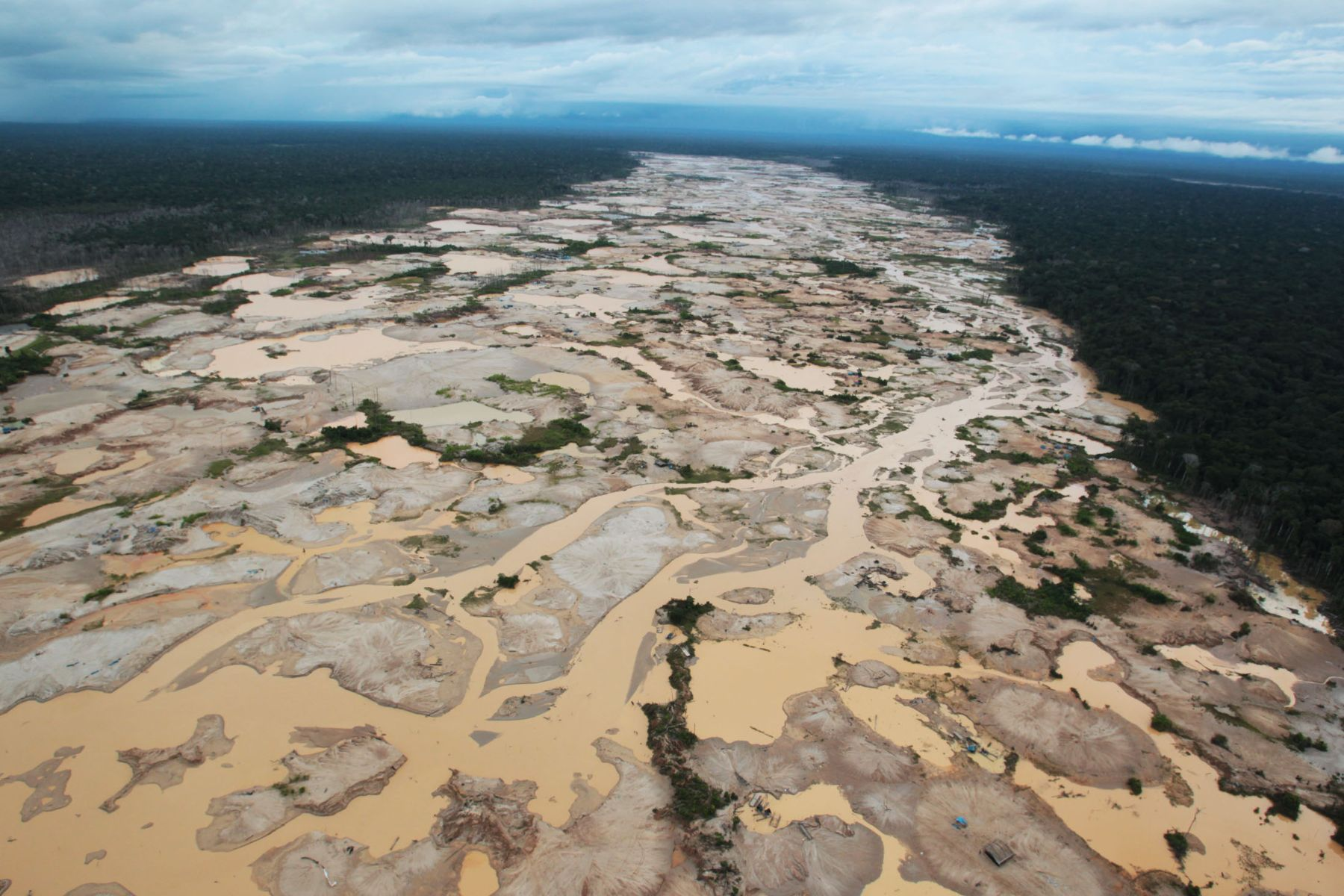 OEFA notifica públicamente a familia Baca Casas para sancionarla por realizar minería informal en Madre de Dios