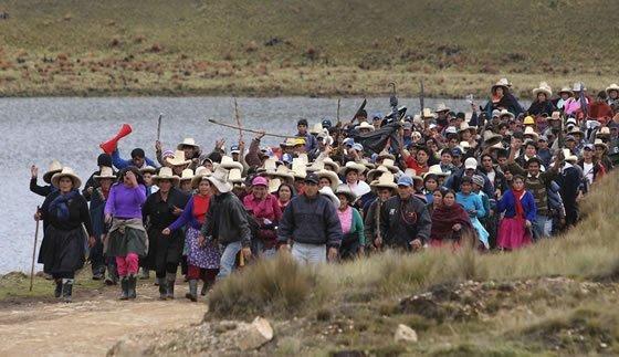Defensoría del Pueblo desestima plan de referéndum por proyecto minero Conga