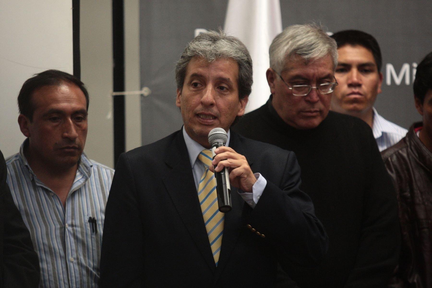 Minam: equipo técnico de plan participativo viajará a Espinar esta semana