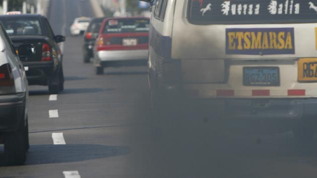 Ate y Cercado de Lima son los distritos más contaminados de la capital debido a parque automotor