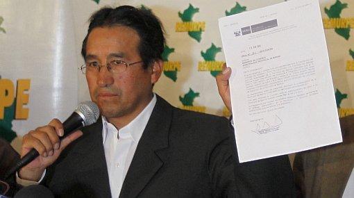 Espinar: Mollohuanca pide desbloquear cuentas del municipio como condición para retomar diálogo