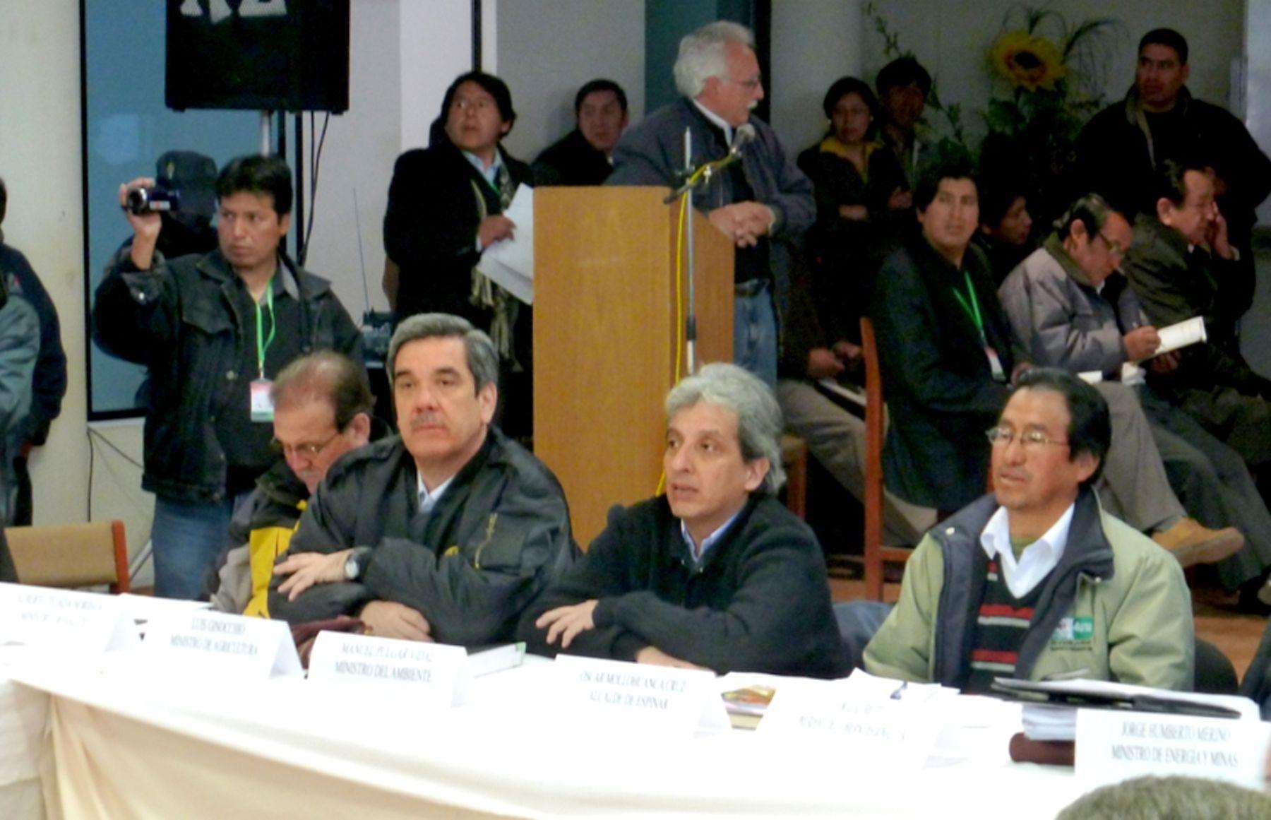 """Minam considera """"exitosa"""" la primera reunión de Mesa de Diálogo en Espinar"""