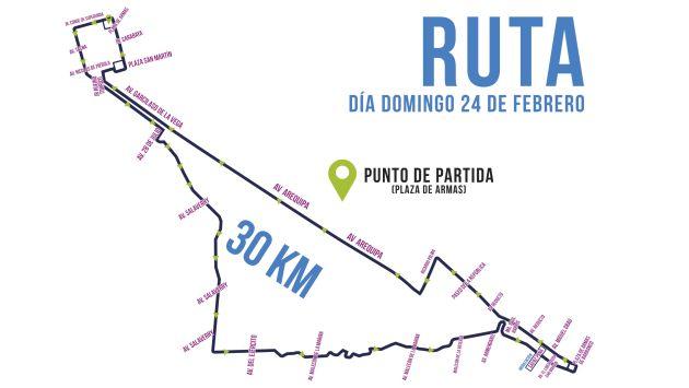 Domingo 24 de febrero: II Bicicletada y Patinata Metropolitana 2013