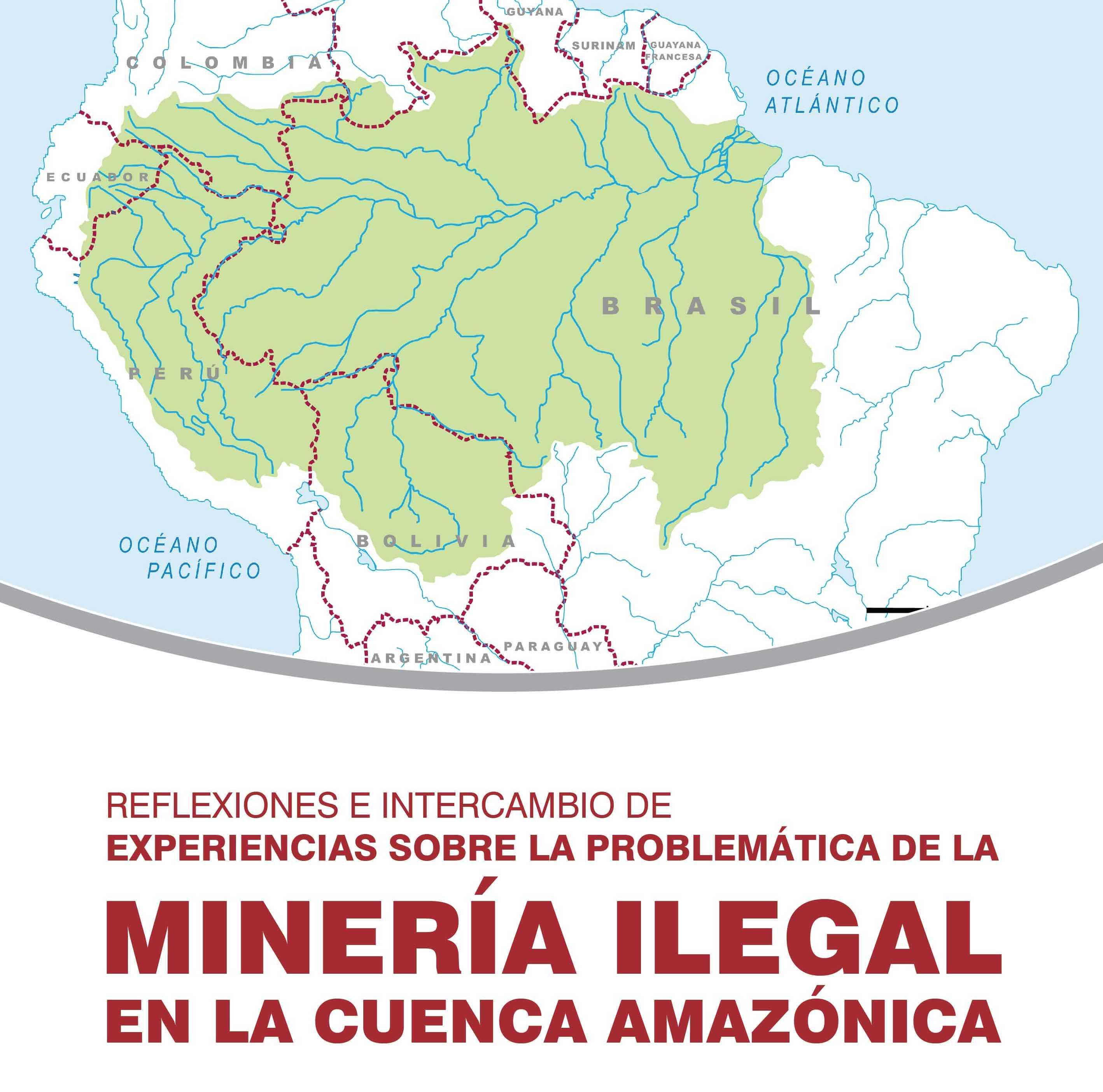 Expertos de seis países analizarán impactos de la minería ilegal en cuenca amazónica