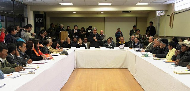 Informe final de mesa de diálogo en Espinar se presentará en agosto
