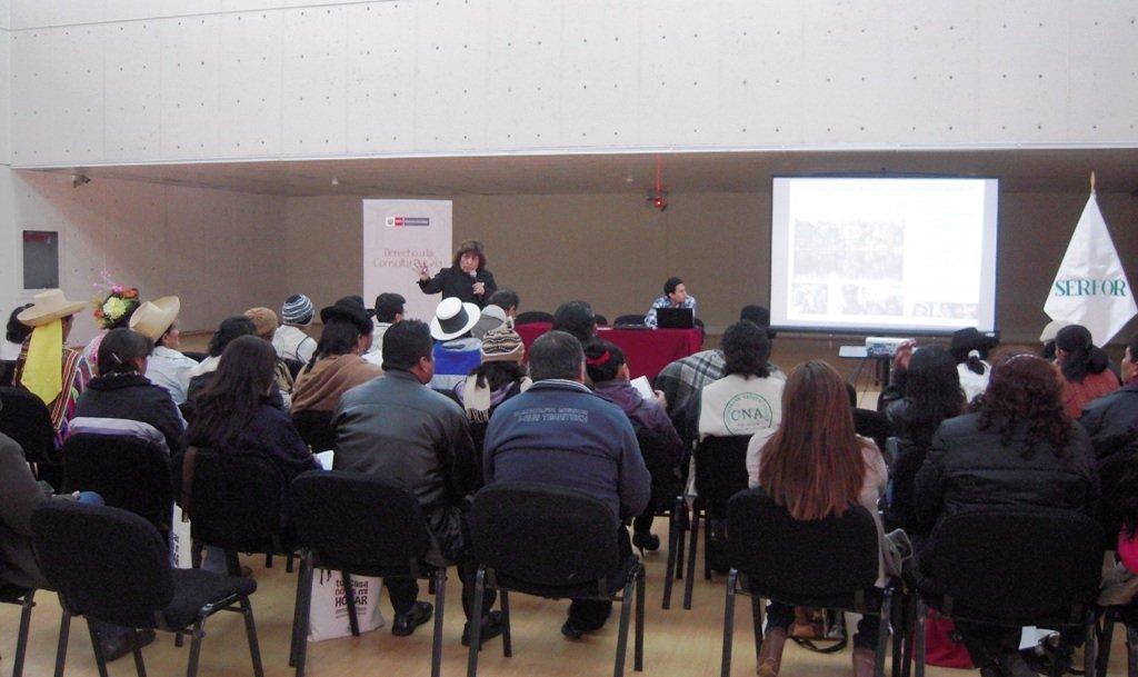 Organizaciones indígenas se preparan para la consulta previa del reglamento de la ley forestal