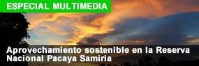 Aprovechamiento sostenible en la Reserva Nacional Pacaya Samiria