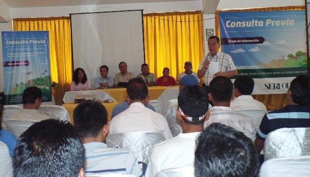 Iquitos: realizan taller informativo de consulta previa del reglamento de la ley forestal