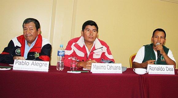Productores castañeros hacen aportes a propuesta de Reglamento de nueva Ley Forestal y de Fauna Silvestre