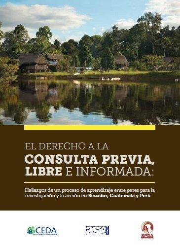 (Descarga en PDF) Libro sobre Consulta Previa en Perú, Ecuador y Guatemala