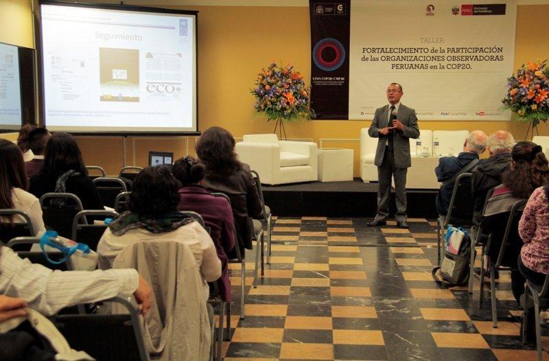 Se iniciaron los talleres para observadores de la COP20
