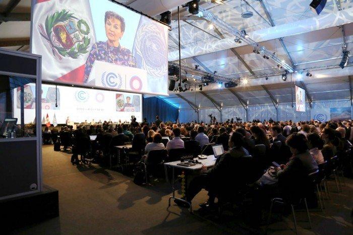 Inauguración de la COP20