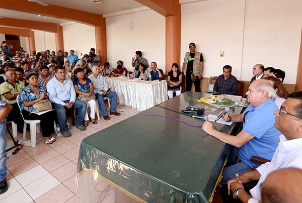 Tía María: Pedro Cateriano. Foto: La República