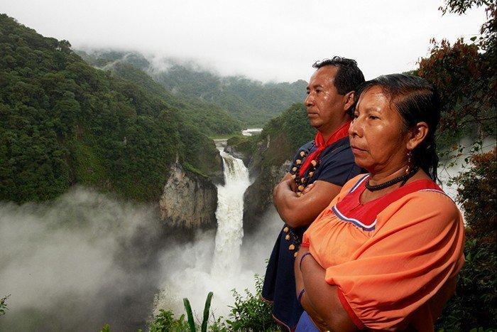 Comunidades indígenas. Foto: amazonia-adina.org