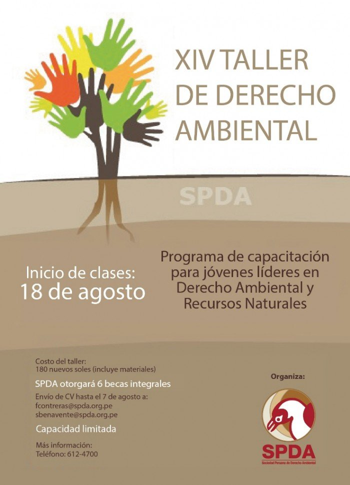 flyer taller de derecho ambiental34