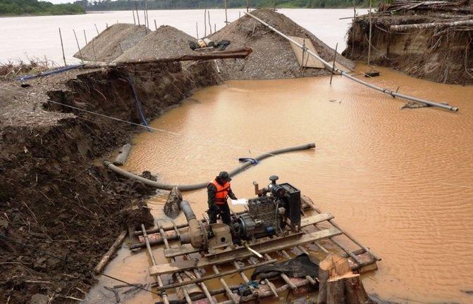 minería ilegal_huánuco_andina