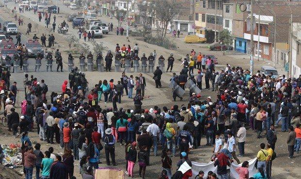 Carretera protesta_ La República