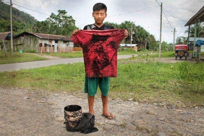 Niño-derrame Petroperú-Foto Rosa Laura - Número Zero