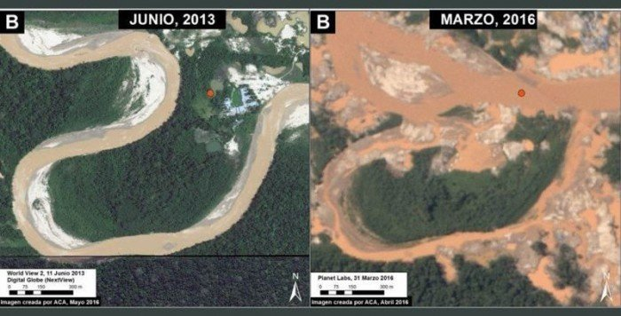 minería en tambopata - MAAP