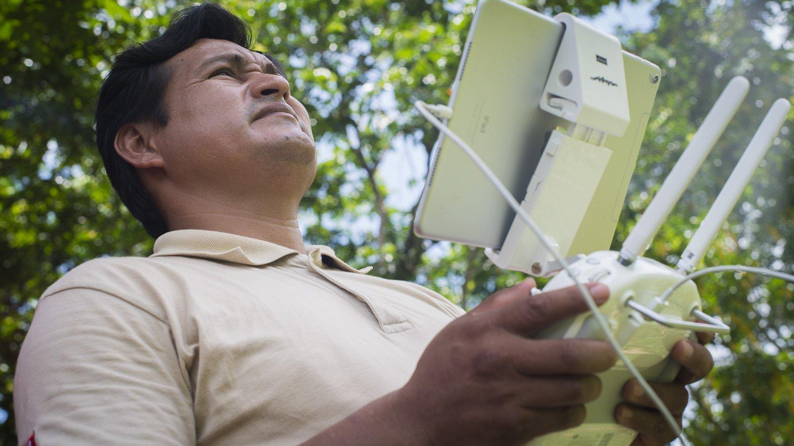 Taller drones_Reserva Tambopata_1