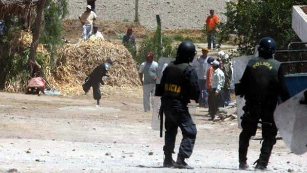 Conflictos sociales. Foto: Perú 21