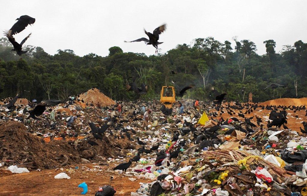 botadero de basura