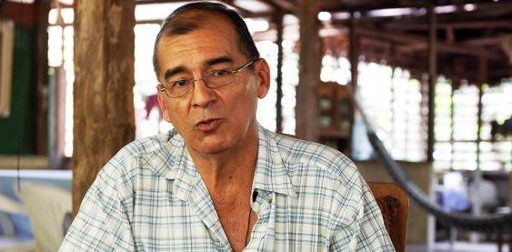 Víctor Zambrano, presidente del Comité de Gestión de la Reserva Nacional de Tambopata (Madre de Dios). Foto: Thomas Müller.