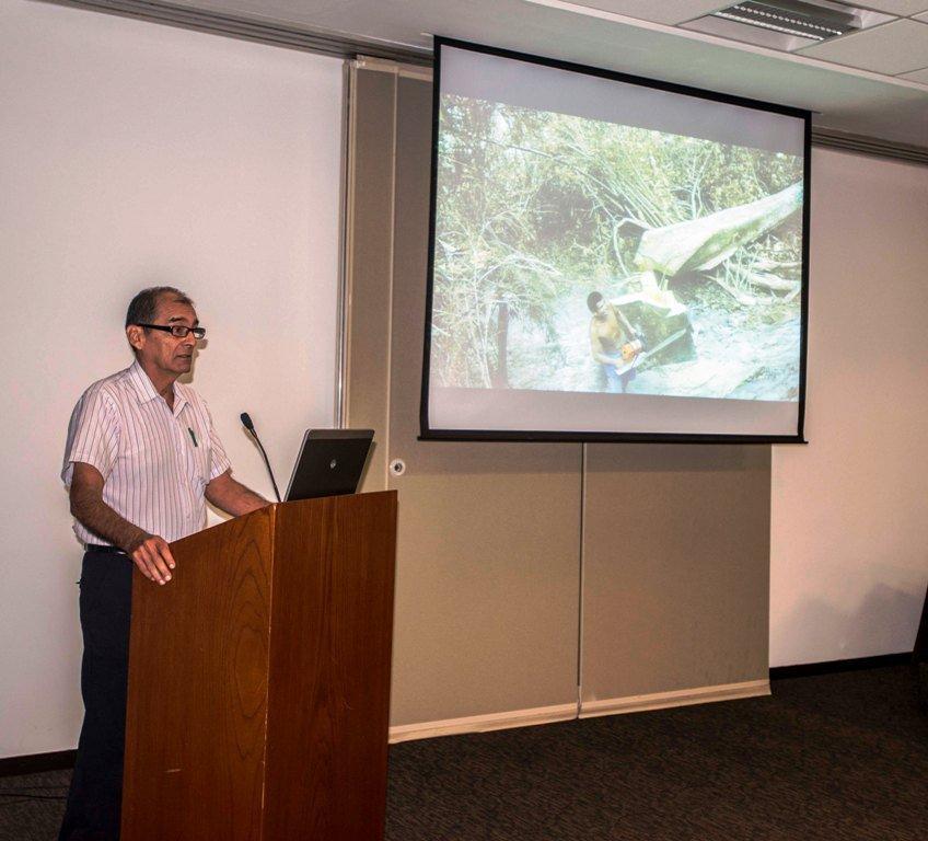 Víctor Zambrano, poblador de Madre de Dios y activo dirigente que defiende la Reserva Nacional Tambopata