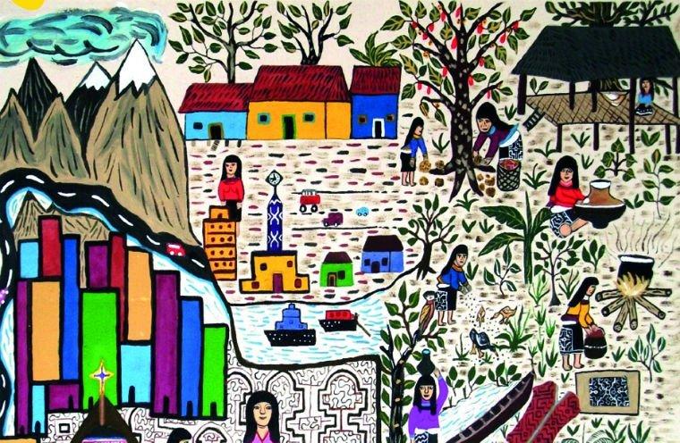 exposición indígenas
