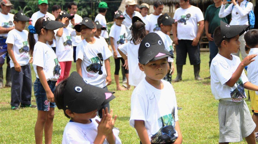 Niños de la Comunidad de San Juan de Yanayacu_spda
