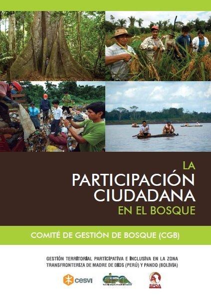 La participación ciudadana en el bosque - SPDA - carátula