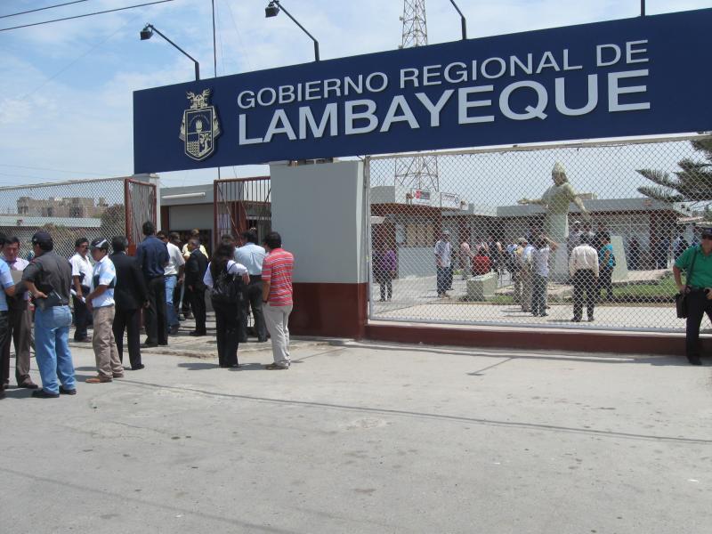 Gobierno regional de Lambayeque