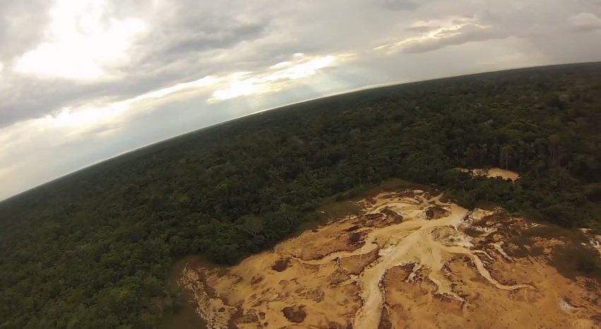 toma de drone