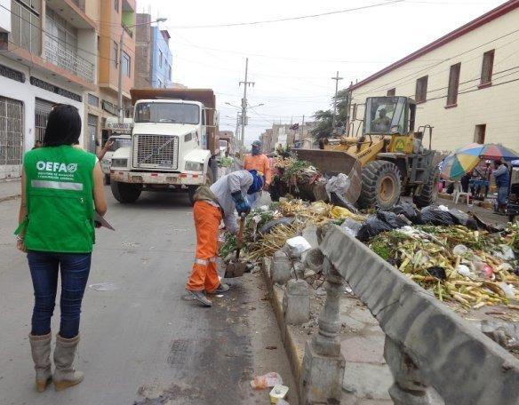 basura en Chiclayo