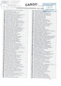cargo de las cartas a congresistas - PL 3941