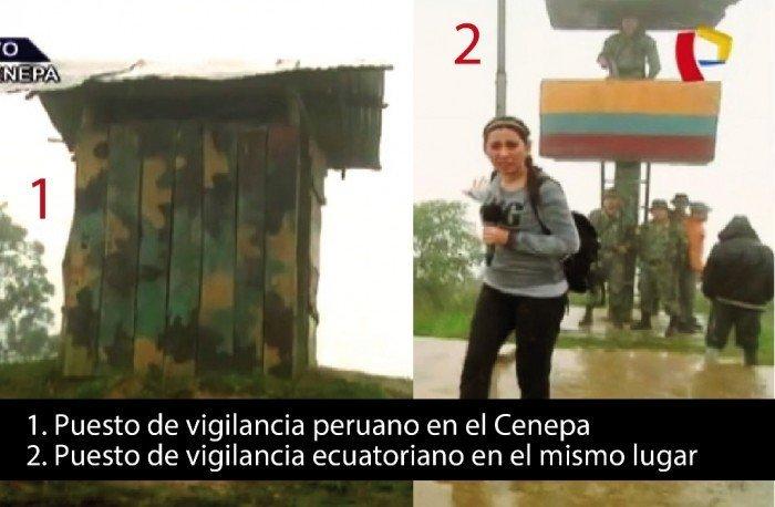 puestos de vigilancia de la frontera Perú-Ecuador
