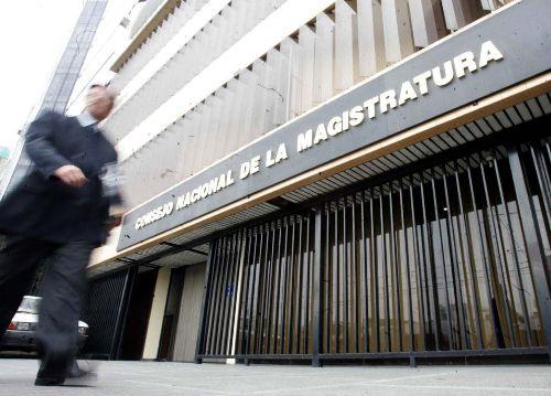 Consejo Nacional de la Magistratura. Foto: Lamula.pe