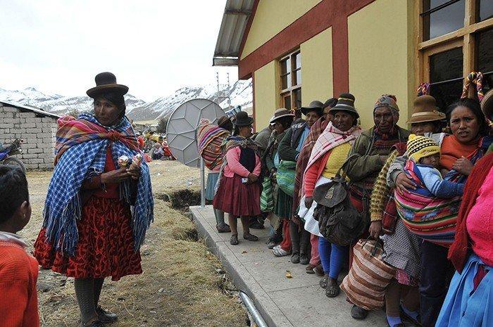 Distritos en riesgo por friaje. Foto: Andina