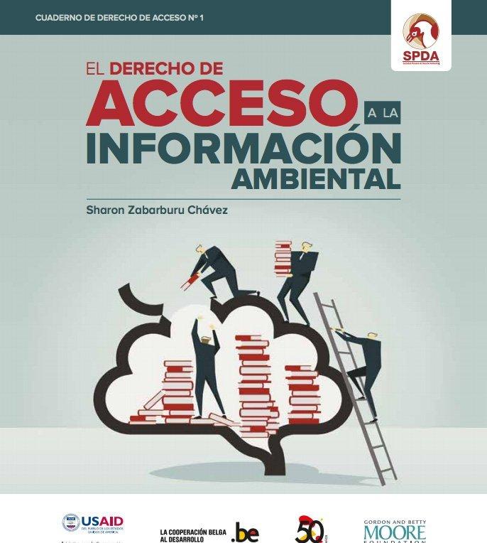 Derecho de acceso a la información ambiental - SPDA portada