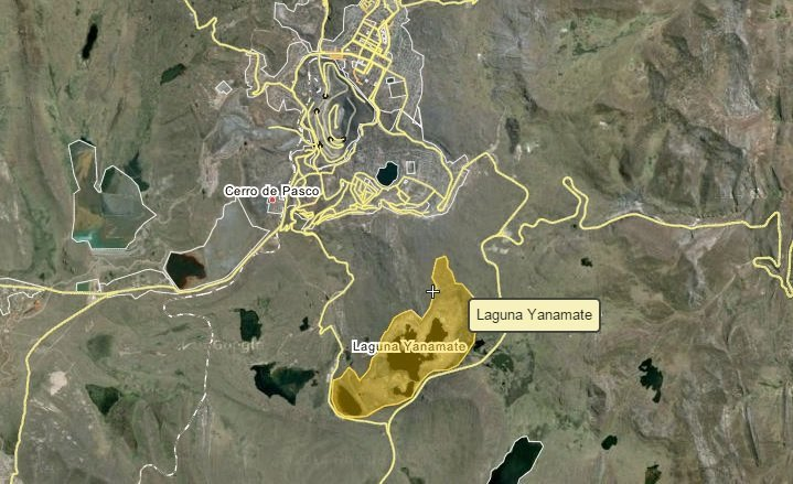 Yanamate_captura Google Maps