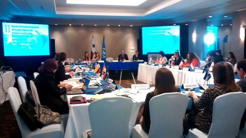 reunión sobre derechos de acceso