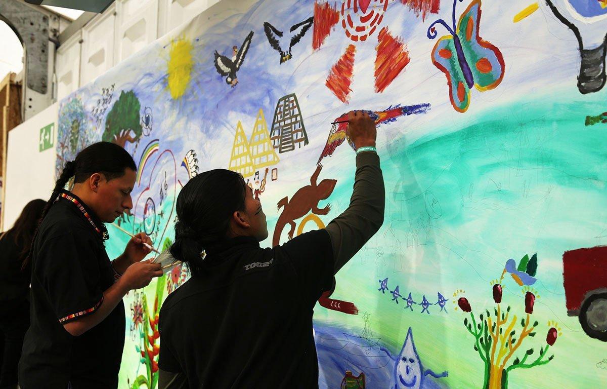 4 mural indigena