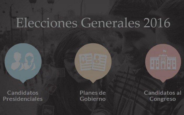 elecciones 2016 Perú