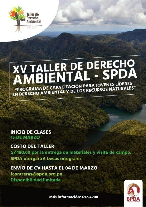 Taller de Derecho Ambiental XV