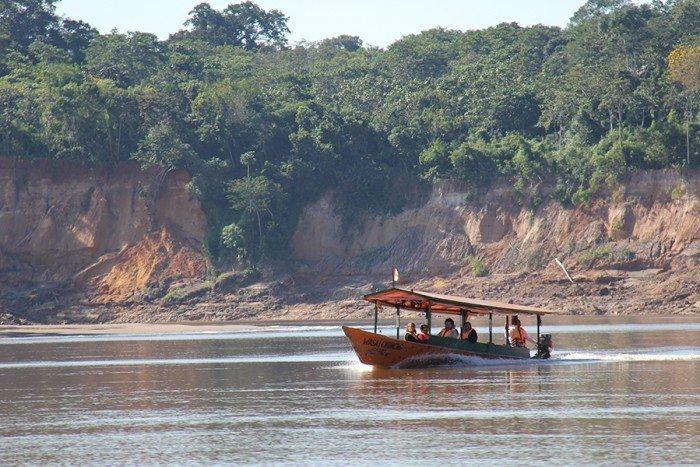 Turistas en RN Tambopata_Foto Sernanp