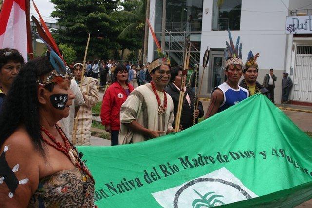 El presidente de Fenamad exigió seguridad legal para las comunidades indígenas ante foro de la ONU. Foto: Servindi.