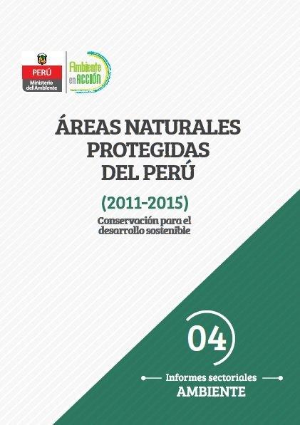 informe áreas naturales protegidas portada