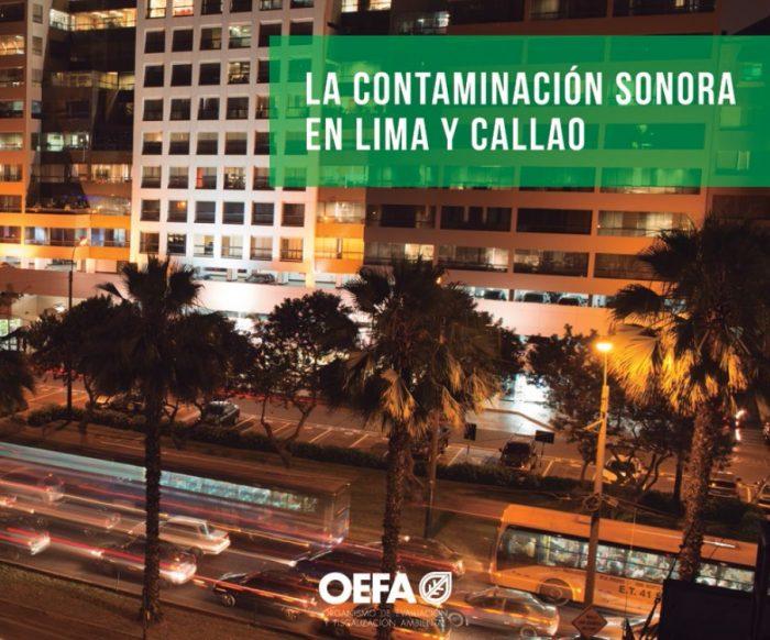 publicacion contaminacion sonora OEFA