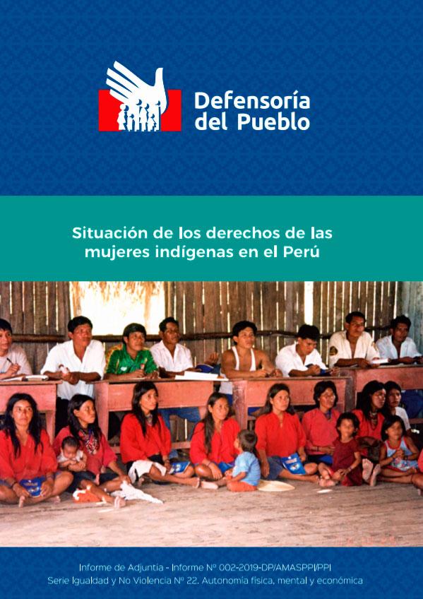 Foto: Portada del informe de la Defensoría del Pueblo